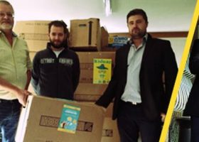 kideaz presse projet caritas recolte creches