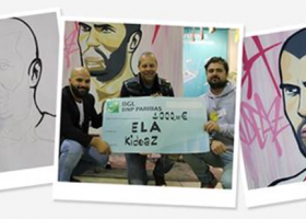 kideaz presse ela dons remise cheque association