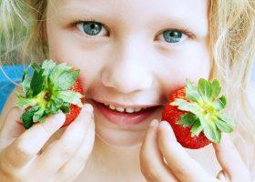 Kideaz enfant fraise