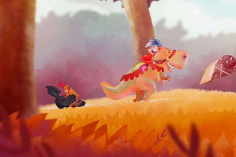 Le vent dans les roseaux –          5 courts-métrages pour les enfants