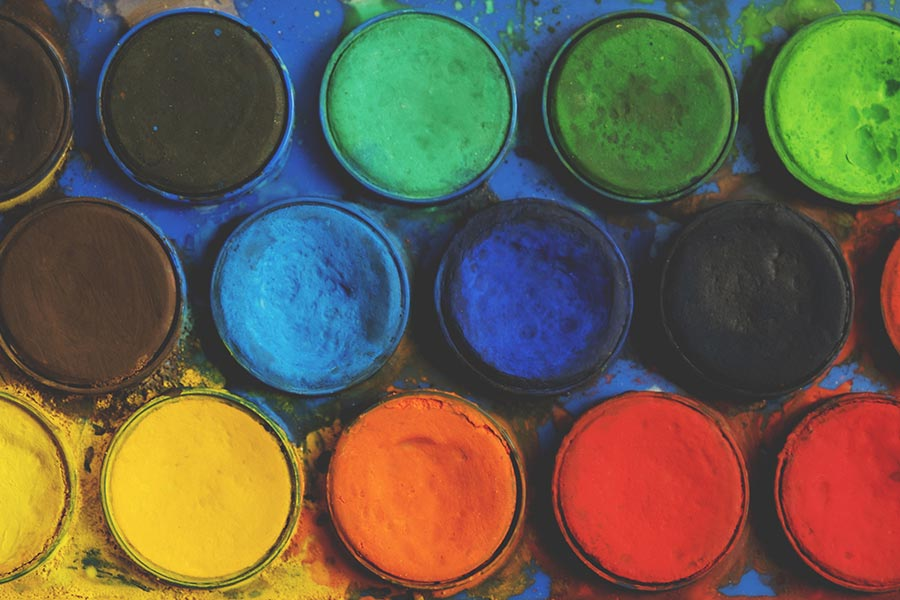 kideaz couleurs peinture