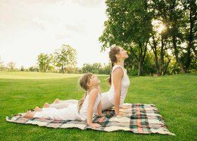 kideaz smile kids yoga parent enfant relaxation