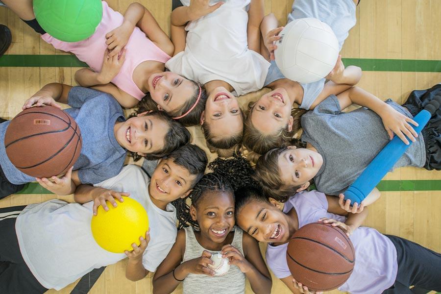 kideaz enfants sport