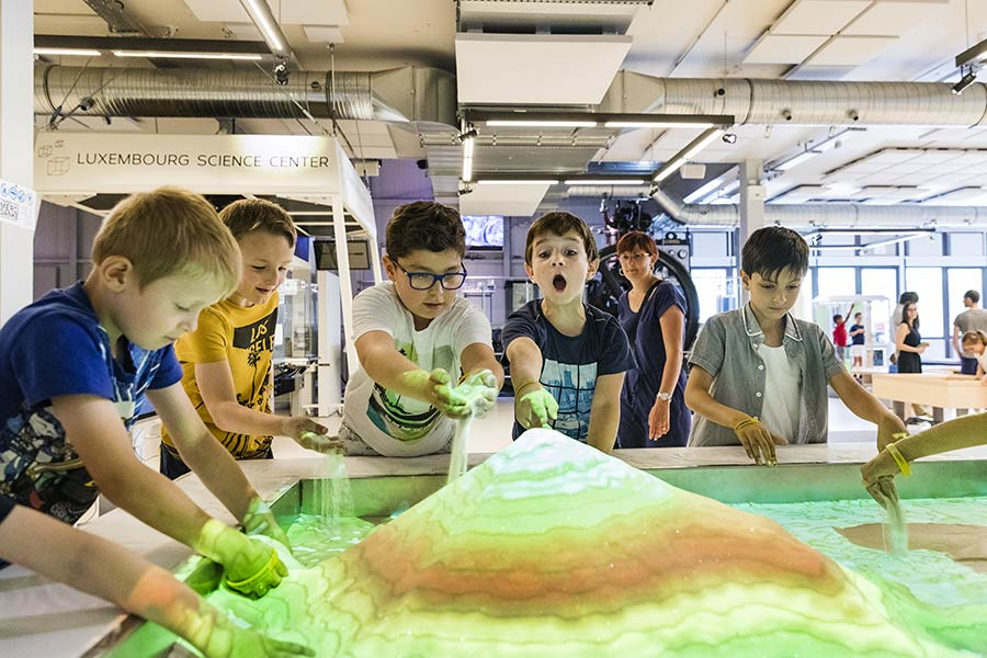 kideaz luxembourg science center experience scientifique enfants