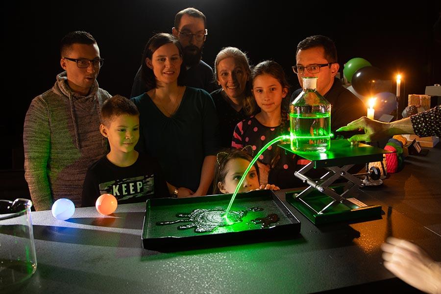 kideaz luxembourg science center show scientifique enfants famille