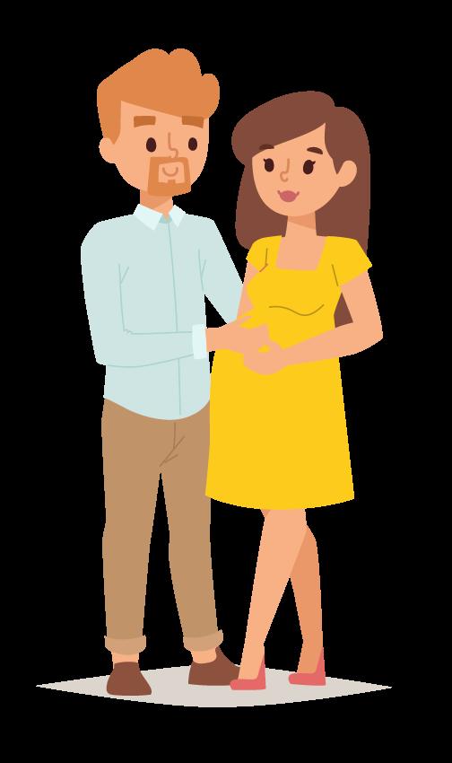 kideaz couple femme enceinte