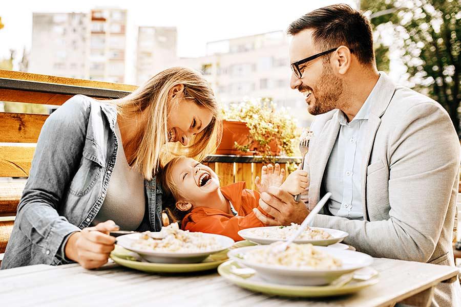 kideaz repas famille
