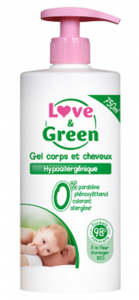Gel Corps et Cheveux Love Green 139x300