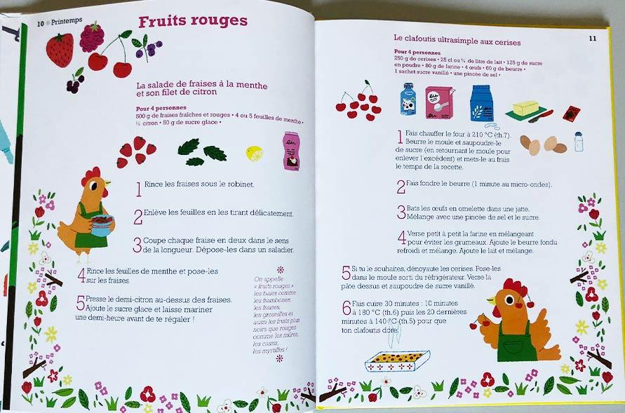kideaz cuisine avec petites fil saisons recette