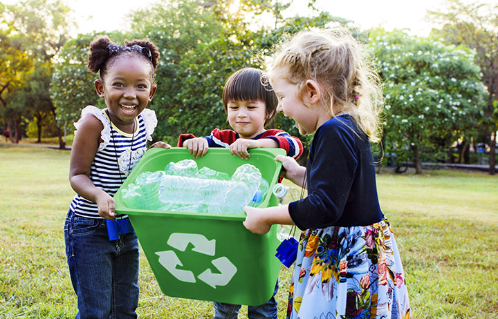 kideaz enfants recyclage ecologie