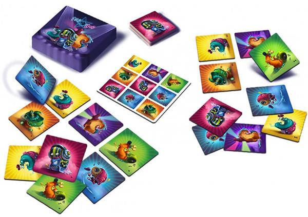 kideaz article jeu cartes famille flip hop 2