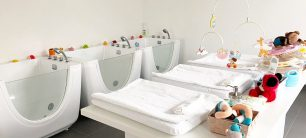 kideaz - little dolpin baby spa - bebe