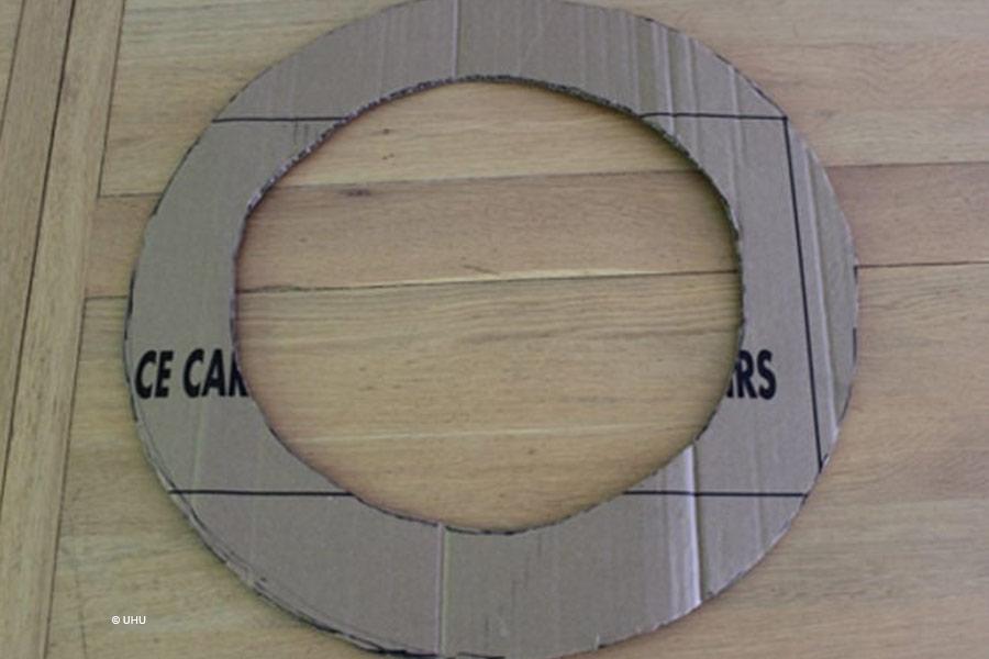 kideaz anneau couronne calendrier avent carton