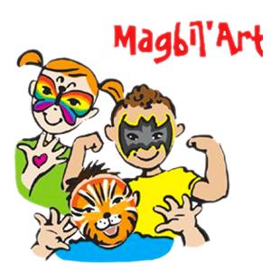 kideaz magbilart face painting logo luxembourg