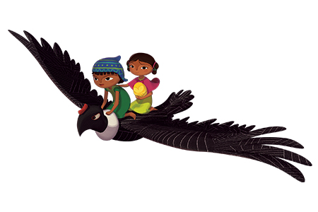kideaz pachamama condor enfants film animation cinema