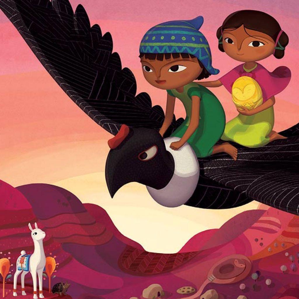 kideaz - pachamama - film animation - luxembourg - tarantula distribution