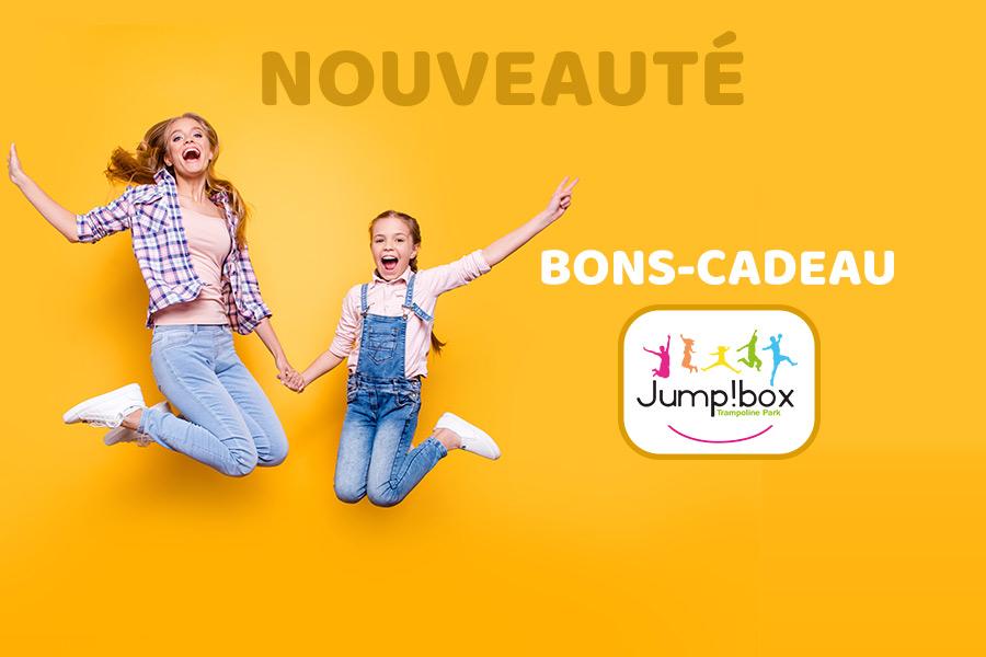 kideaz cadeaux noel jumpbox bons cadeau