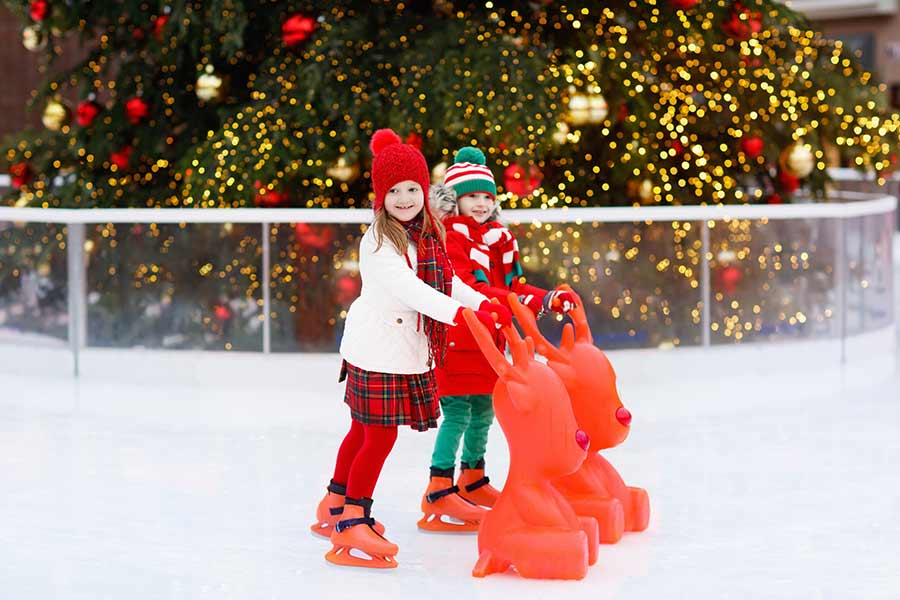 kideaz enfants patinoire noel