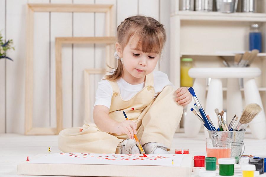 kideaz top5 atelier enfant peinture art