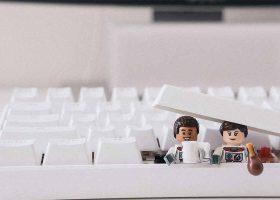 kideaz geek star wars ordinateur clavier art comic con