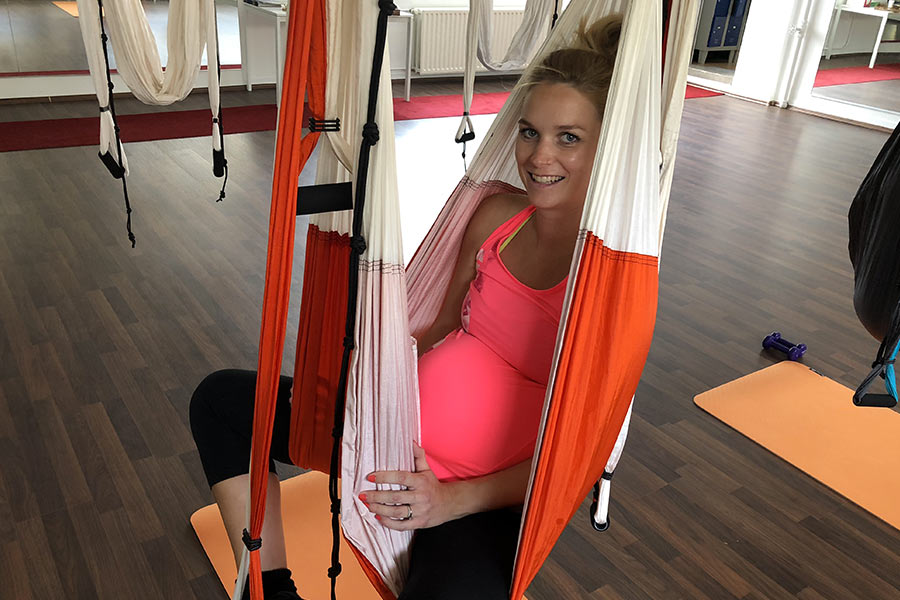 kideaz aeroyoga luxembourg seance future maman sport