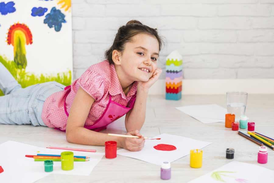 kideaz enfant atelier artistique peinture