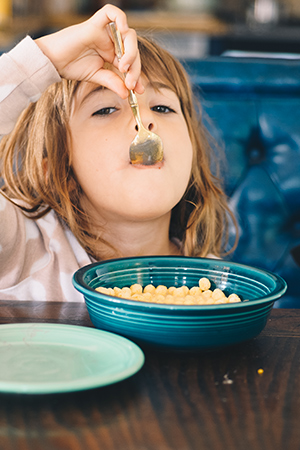 kideaz enfant creche repas