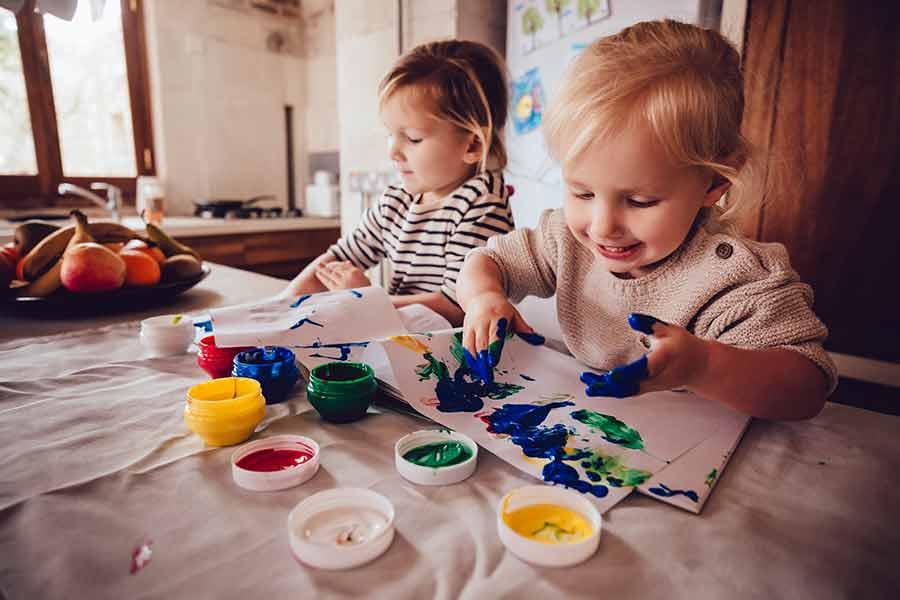 kideaz enfants atelier creatif artistique peinture