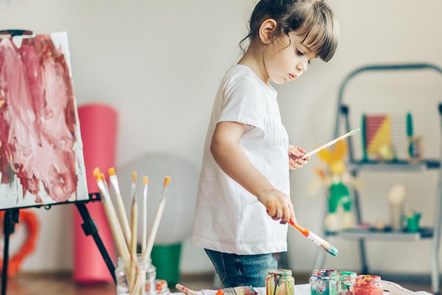 kideaz explorateurs bonheur creche enfant art creativite