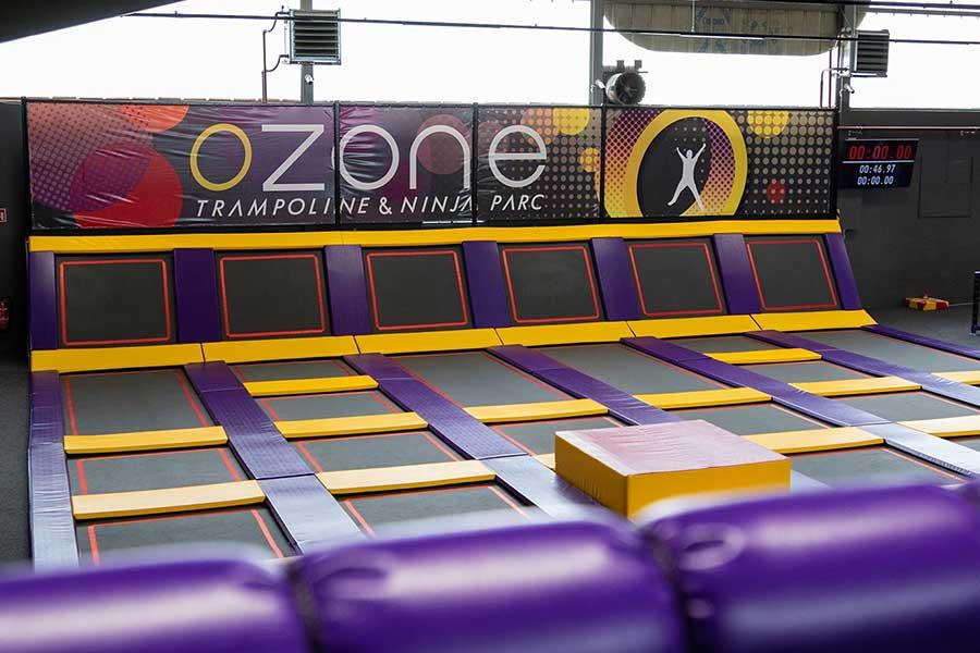 ozone parc trampolines ninja kideaz
