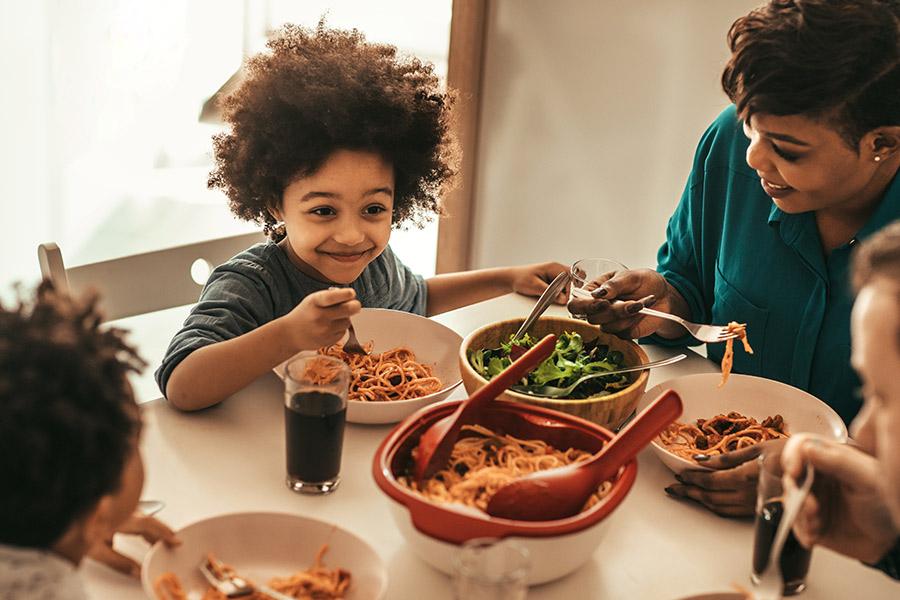 kideaz famille repas rentree scolaire manger