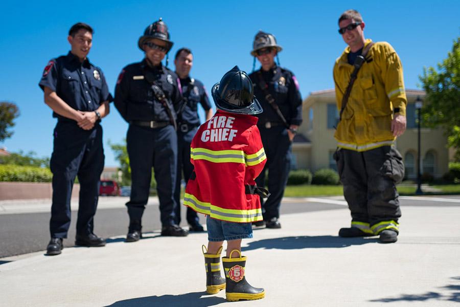 kideaz pompier enfant