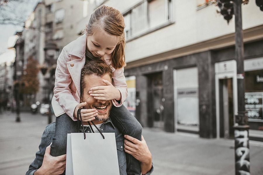kideaz top braderie shopping papa enfant