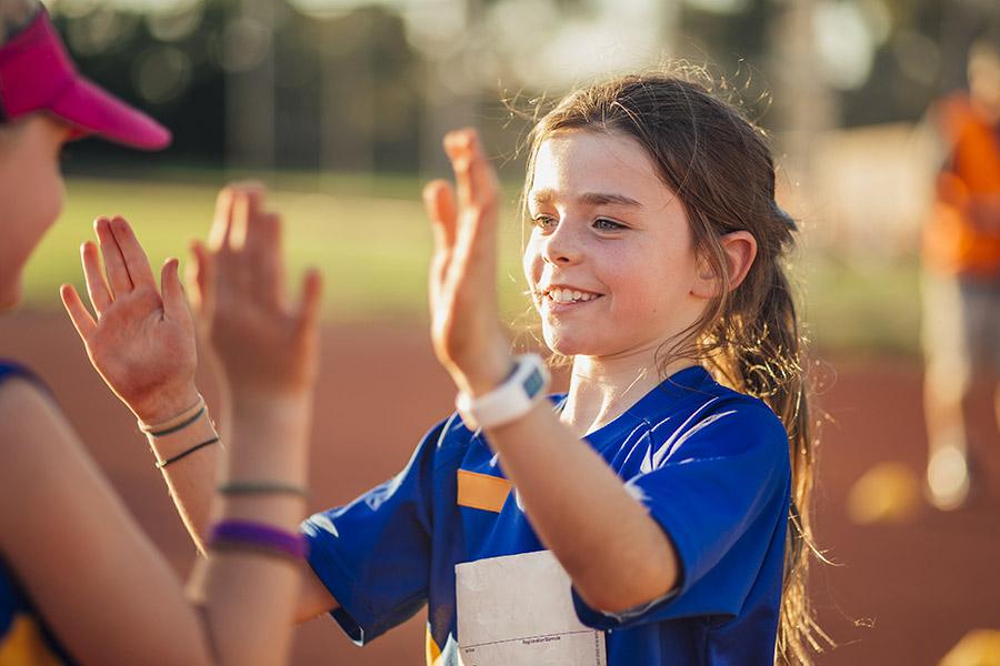 kideaz top fete sport fille competition