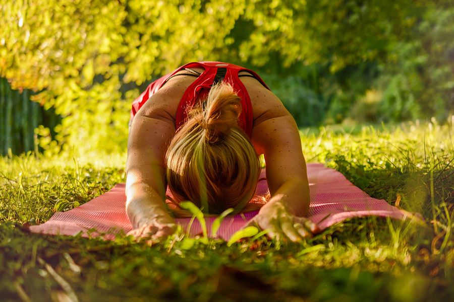 kideaz yoga exterieur