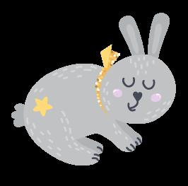 kideaz byebye lit petit lapin