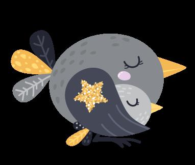 kideaz byebye lit petit oiseaux