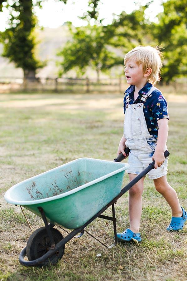 kideaz cueillette enfant brouette jardinage V2