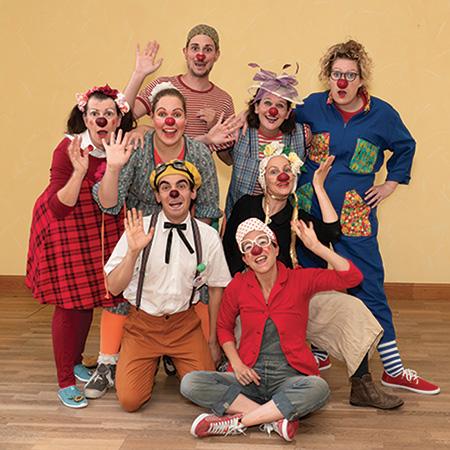 kideaz ile aux clowns equipe luxembourg