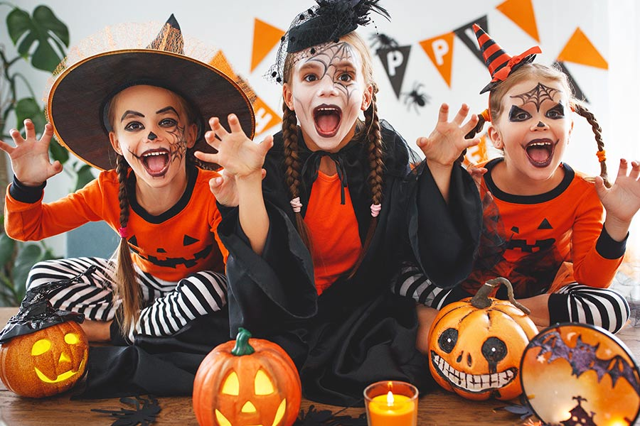 kideaz halloween deguisement enfants jumpbox