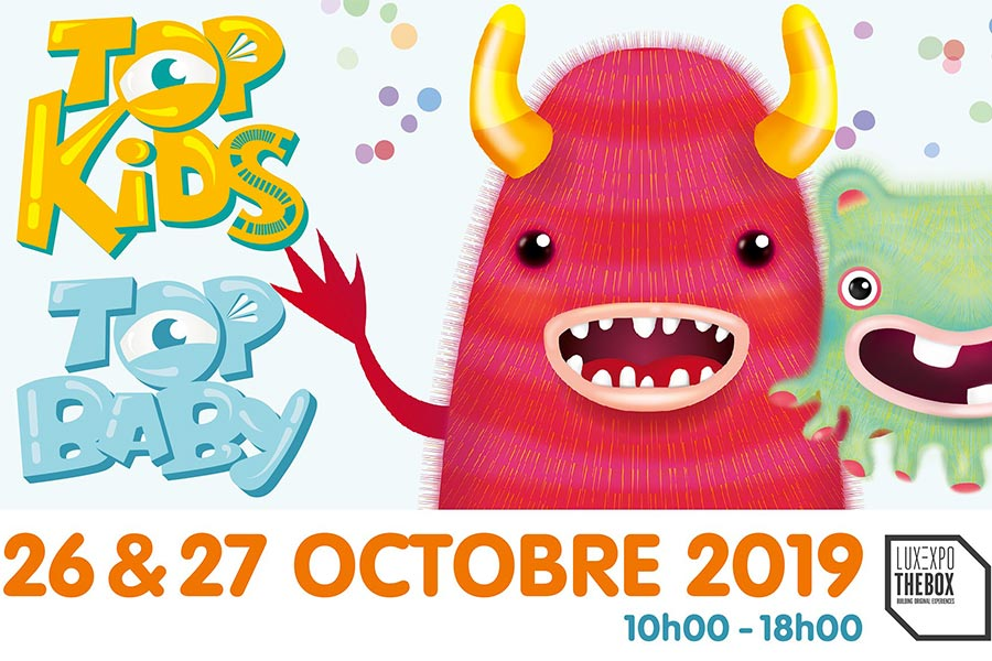 kideaz topkids evenement topbaby 2019 luxembourg luxexpo the box