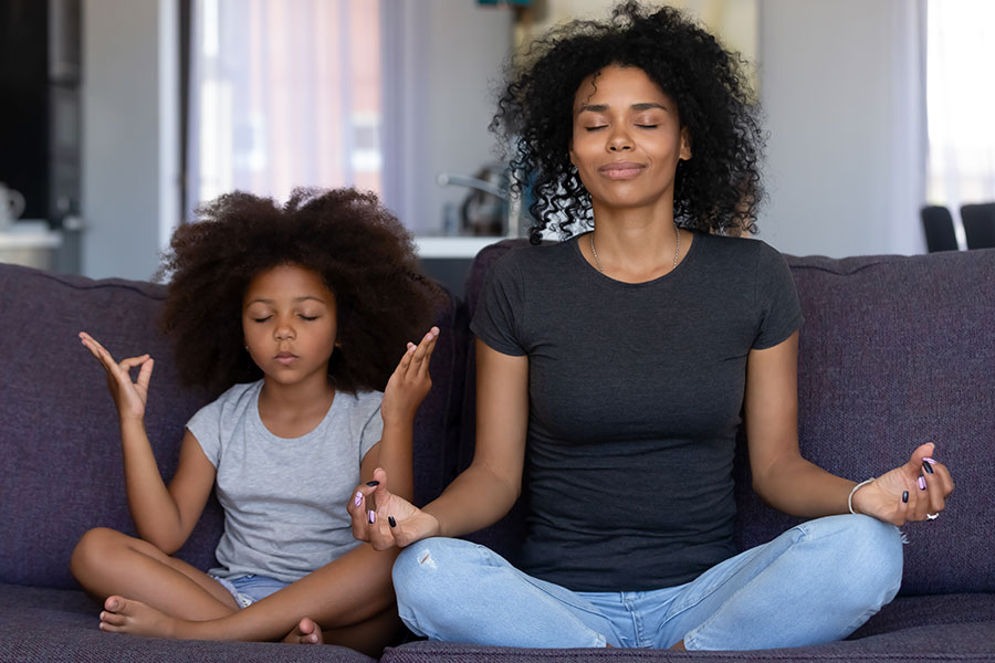 kideaz meditation parent enfant