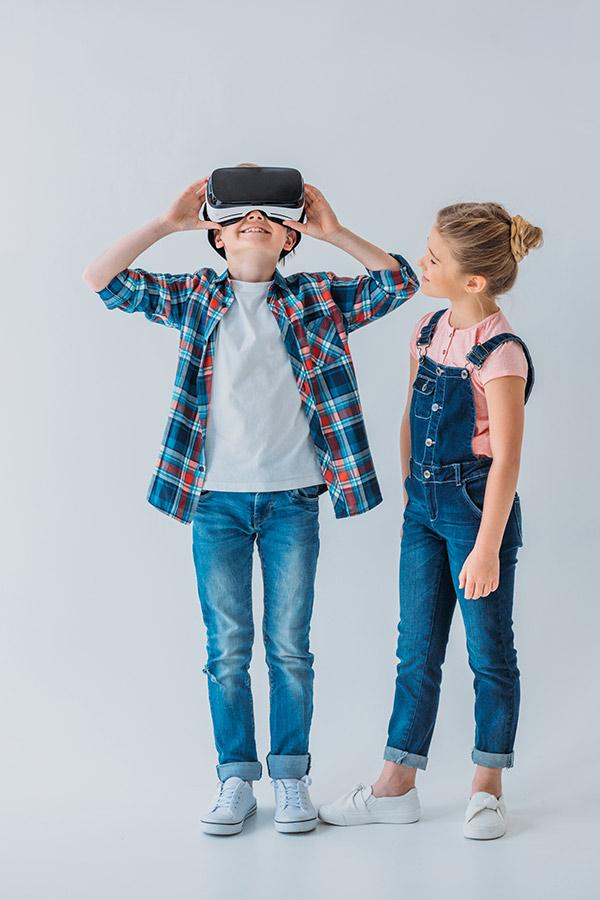 kideaz realite virtuelle enfants garcon fille