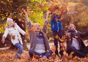 kideaz sortie automne famille hiver foret