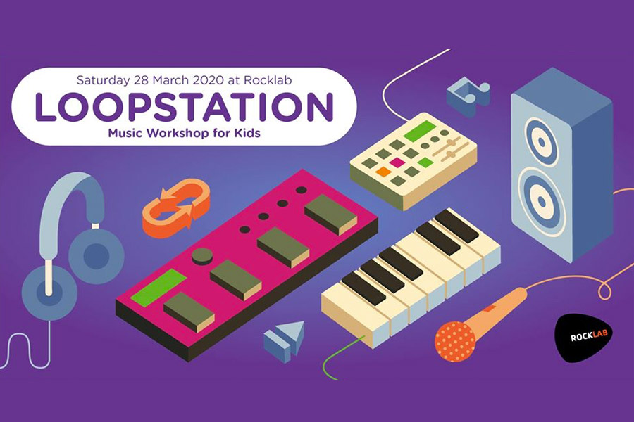 kideaz loopstation rocklab luxembourg musique enfants