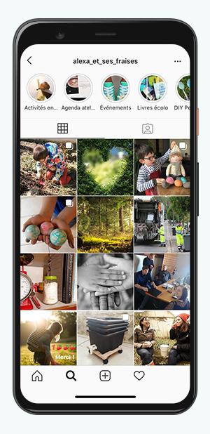 kideaz comptes instagram parents alexa et ses fraises