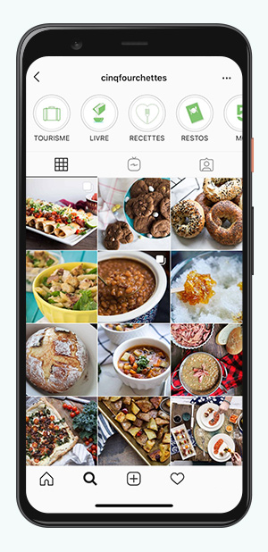 kideaz comptes instagram parents cinq fourchettes