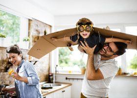 kideaz activites maison cuisine parent enfant avion