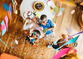 kideaz anniversaire maison confinement famille