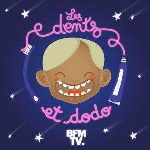 kideaz ecouter musique podcasts famille enfant les dents dodo bfm tv
